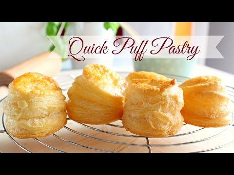 Quick Puff Pastry Dough-Pasta Sfoglia Veloce