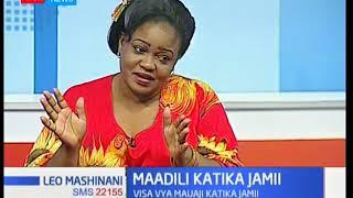 Leo Mashinani: Maadili katika jamii