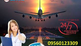 Hire Modern Air Ambulance in Ranchi by Medivic Aviation