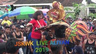 Keblak-keblak Jaranan Sarif Kembang Wongso Kenongo Aliyan Live Aliyan 2019