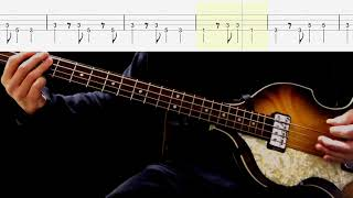 Bass TAB : Cry For A Shadow - The Beatles
