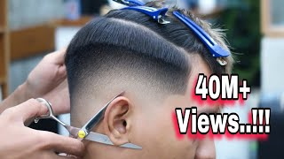 Perfect Skin Fade, Most Detailed and Blurry 🔥 No viber or air brush - Barber Tutorial