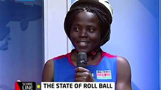 One on One with the Ladies roll ball team who are World Champions | SCORELINE