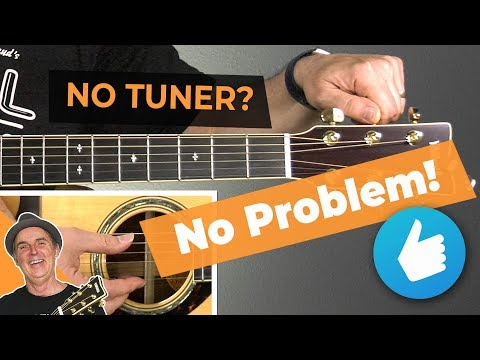 How to Tune a Guitar Without a Tuner for Beginners | Guitar Tips