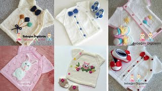 Beautiful And Stylish Hand Knitting Baby Sweaters Designs