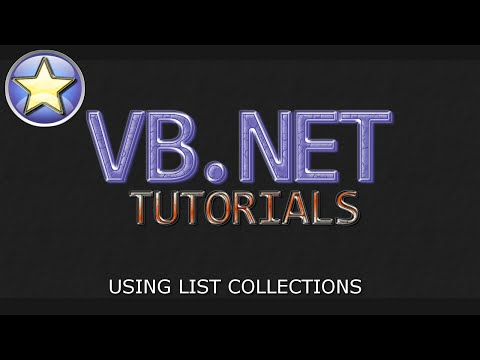 VB.NET Tutorial – List Collections – Adding, Retrieving, and Removing Data (Visual Basic .NET)
