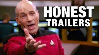 honest trailers  star trek  the next generation