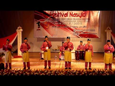 JOHAN Festival Nasyid Kebangsaan 2012 - Johor (Anugerah Solo Terbaik, Anugerah Lagu Pertama Terbaik)