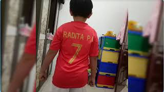 Selamat Ulang Tahun A Radit...Radita Purwana Indrawardana ke-8 tahun