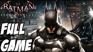 Batman Arkham Knight Gameplay Walkthrough Part 1 Full Game Let's Play Review Playthrough 1080p HD