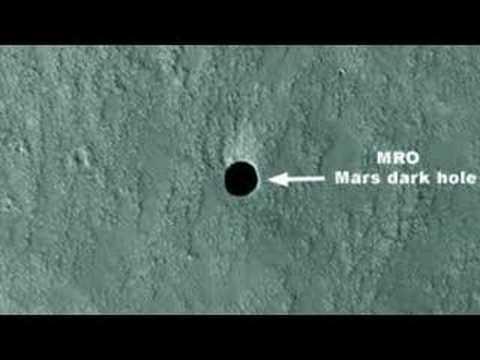 Tajemné černé díry na Marsu