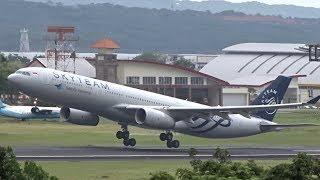 WOW! BIG Aircraft Take Offs Denpasar Bali Airport 5x B777, 11x A330, 4x B787 & B747!