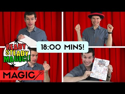 Children's TV Magic Compilation | Series 1 | Ready Steady Magic
