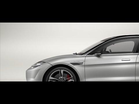 VISION-S prototype vehicle product movie