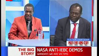 Jubilee and NASA at logger heads on matters IEBC as civilians protest: Big Story pt 2