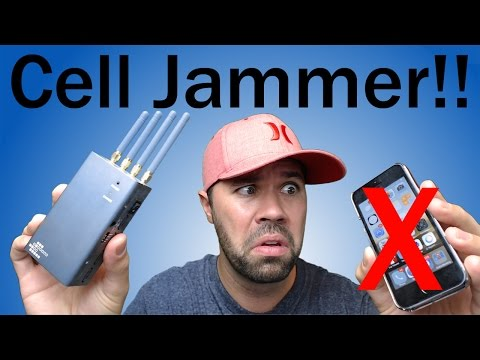 Blocking a phone - cell phone jammer youtube