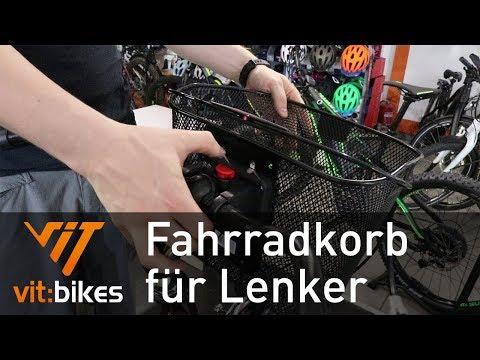 KLICKFix Korb am Lenker montieren - vit:bikesTV 154
