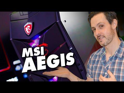 MSI Aegis | PC Gaming in test con 20 Benchmark e giochi