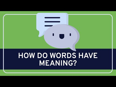 Language: Meaning and Language