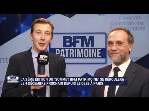 Sommet BFM Patrimoine au Palais d'Iéna de Paris