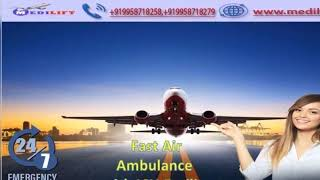 Take Fast Air Ambulance Service in Indore with Medical Tool