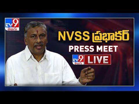 BJP NVSS Prabhakar Press Meet LIVE - TV9