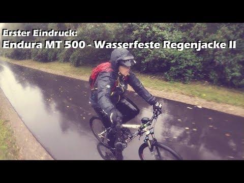 Erste Eindrücke: Endura MT500 - Wasserdichte Regenjacke II