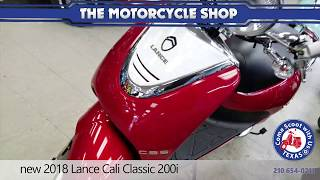 2018 Lance Cali Classic 200i Motorcycle Specs, Reviews, Prices
