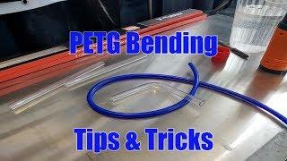 PETG Bending Tips & Tricks