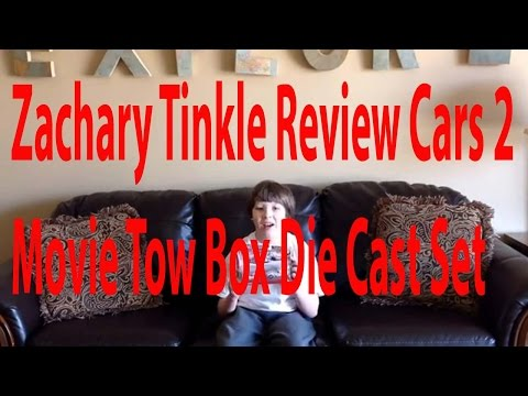 Zachary Tinkle Review Cars 2 Movie Two Box Die Cast Set