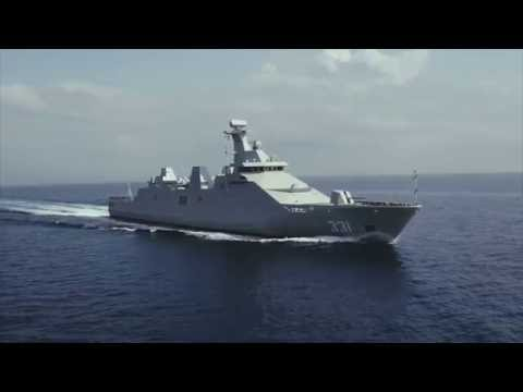 Sea Trials Of First SIGMA 10514 PKR Frigate For Indonesian Navy