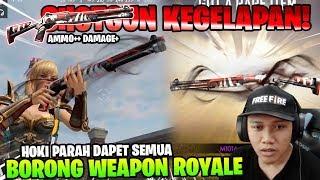 WEAPON ROYALE PALING HOKI! BORONG SHOTGUN DESTRUCTION! - Garena Free Fire