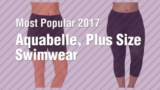 Aquabelle, Plus Size Swimwear // Most Popular 2017