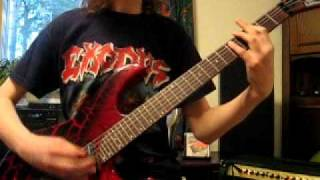 Exodus - Count Your Blessings (guitar cover)