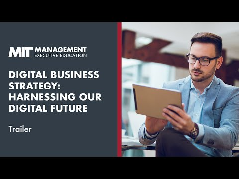 MIT Sloan Digital Business Strategy Online Short Course   Trailer