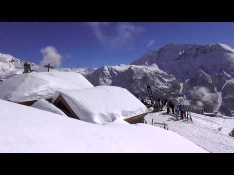 La vallée du Champsaur en hiver