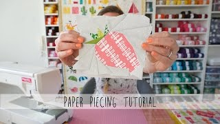 How To Do Foundation Paper Piecing