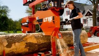 Wood-Mizer LT15 Personal Sawmill - Start Sawing Your Own Lumber