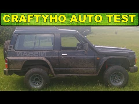 Craftyho auto test ♦ Silniční traktor ▶ Nissan Patrol 2,8TD Y60