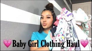 Baby Girl Clothing Haul💗
