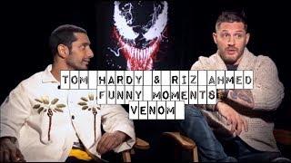Tom Hardy & Riz Ahmed ( hilarious funny moments Venom Movie )
