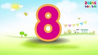 Dạy bé biết đọc sớm | Dạy bé tập đếm số tiếng việt | Dạy bé yêu học đếm số từ 1 đến 10 | Dạy bé học
