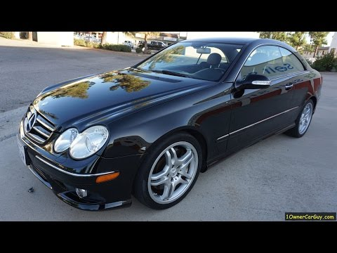 Mercedes Benz CLK550 AMG Package Interior Video Review A209 C209