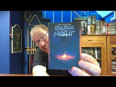 The Board Game Kaptain's review and tutorial for Dark Is The Night