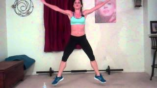 15 Minute High Intensity Home Cardio Workout Real Time by Melissa Bender