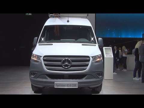 Mercedes-Benz Sprinter 414 CDI Panel Van (2019) Exterior and Interior