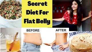 Secret Diet Plan For Flat Belly   Reduce Belly Fat Diet At Home  #GottaCMyGlow Somya Luhadia