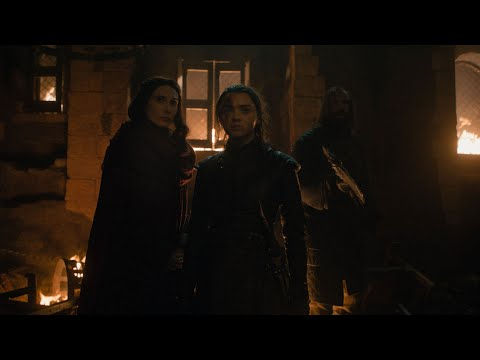 Arya and Melisandre | What do we say to the God of Death?