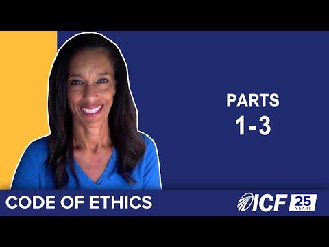ICF Code of Ethics, Parts 1-3 - YouTube