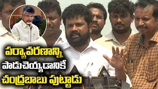 YSRCP leaders visits Krishna River over illegal occupation of river by filling sand by TDP